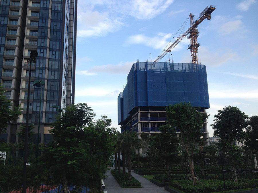 Tiến độ xây dựng căn hộ Centennial Saigon của tập đoàn Alpha King cập nhật tháng 10/2018