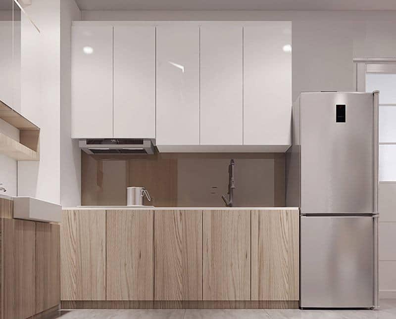 Phòng bếp được Nam Long thiết kế không kém phần sang trọng