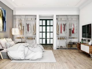 Phòng ngủ lớn căn hộ Vinhomes quận 9