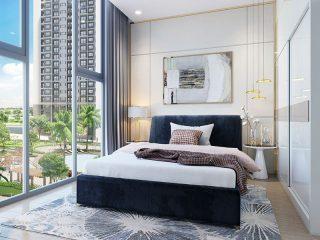 Phòng ngủ với tầm nhìn thoáng đãng view nội khu